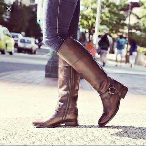 Frye Melissa Harness Riding Boot